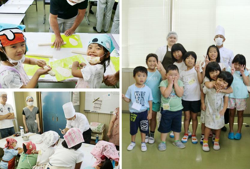 第2回夏休みパン体験教室